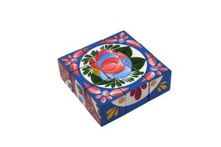Cubes gift with the compositions of the Volkhov painting