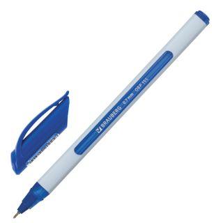 """Ballpoint pen oil BRAUBERG """"Glide Extra Soft White"""", BLUE, node, 0,7 mm, line writing 0.35 mm"""