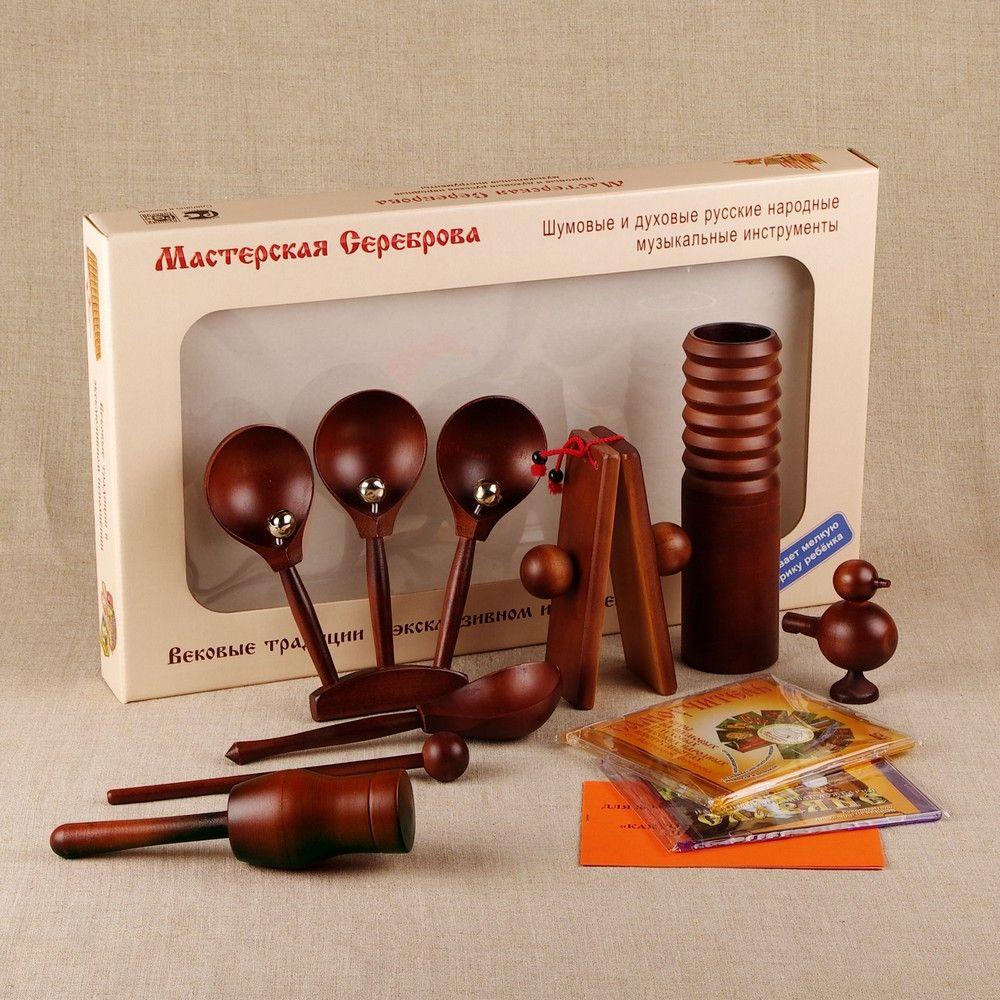 """Workshop Serebrov / Set """"Matryoshka"""""""