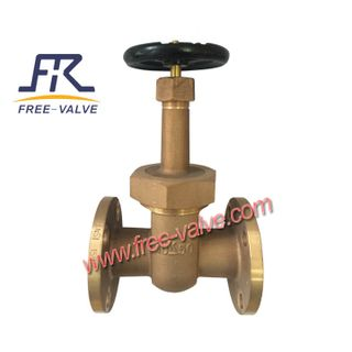 Aluminium Bronze Gate Valve for Sea Water,High Performance Aluminium Bronze C95900 Flanged Gate Valve