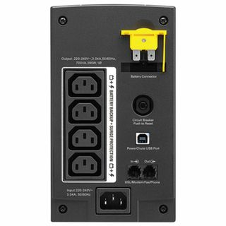 APC / Back-UPS BX700UI 700 VA (390 W) 4 IEC 320 Sockets Black