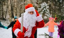 """""""Winter fairy tale in a magical forest"""" - New Year's trips to Santa Claus for one day for children's groups (age 4-10 years)"""