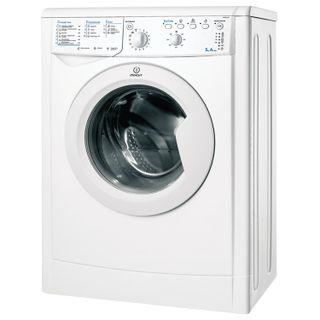INDESIT IWSB5105,1000 rpm, 5 kg, front loading, 13 programs, 60 x42 x85 cm, white
