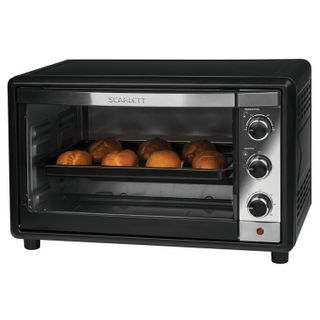 SCARLETT SC-EO93O18, 1600 w, 35 litre volume, mechanical control, grill, convection, timer, black