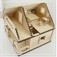 EcoHouseKids - designer toy house and dollhouse 2in1 - view 3