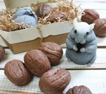 Set of handmade soap Rodent