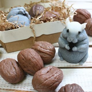 Set of handmade soap Rodent
