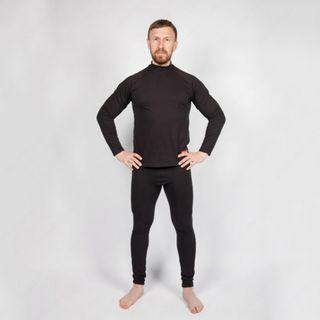 COMFORT-M Mens Termocouples Longsleeve+Pants, Black