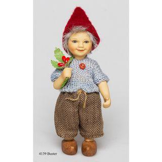 Birgitte Frigast / Porcelain Doll Buster, 10 cm
