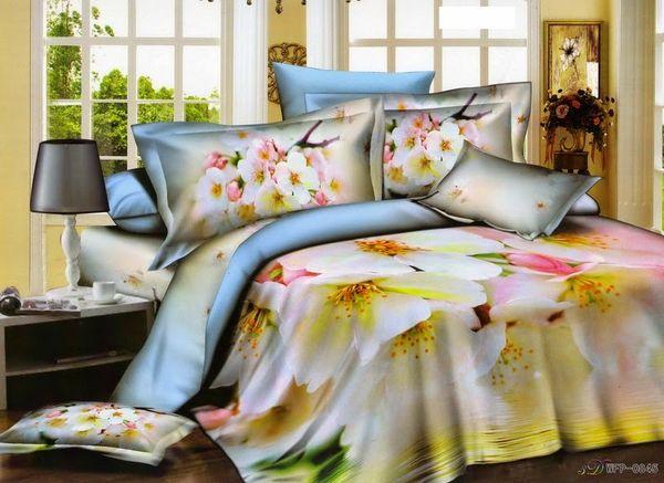 Satin bed linen 3D Susie