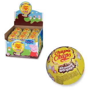 CHUPA CHUPS / Assorted chocolate ball with toy, 20 g
