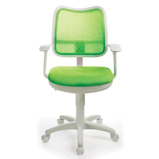 Chair CH-W797 / SD with armrests, light green