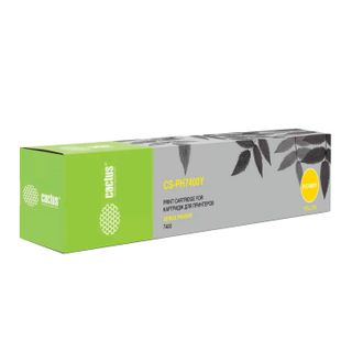 XEROX Phaser 7400 CACTUS Toner Cartridge (CS-PH7400Y), Yellow, Yield 9000 Pages