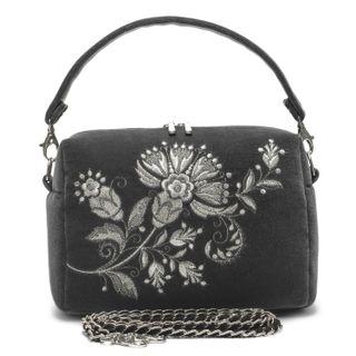 Torzhok gold embroiderers / Velvet bag