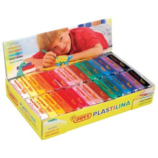 Modeling clay (1 piece) vegetable-based JOVI (Spain), 50 g assorted