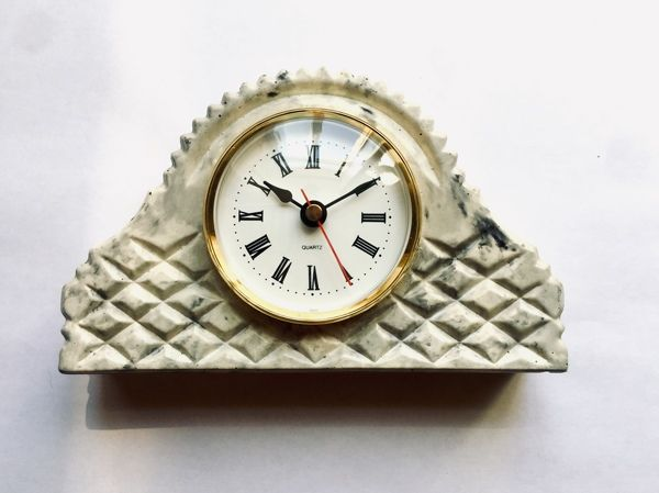 Arbet Marble / Mantel table clock Tuscany-vintage marble Arbet ™ Classic gray (gray)