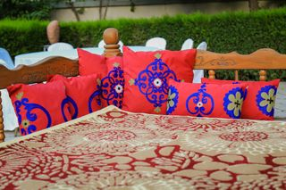 LA`AL Textiles / Pillowcases - Bordeaux (b)