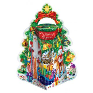 """New Year's gift """"Yolochka"""", a set of sweets 300g."""