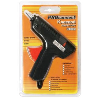 Glue pistol 60 W for 11 mm rod, PROCONNECT, in blister