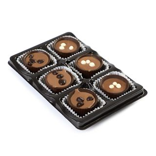 A set of handmade chocolates