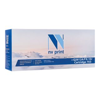 Laser cartridge NV PRINT (NV-Q2612A / FX-10/703) for HP / CANON LaserJet / i-SENSYS, resource 2000 pages.