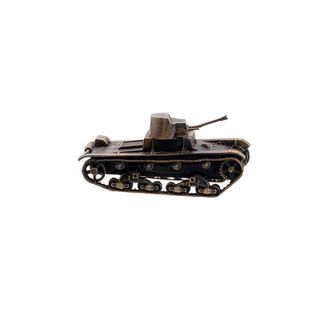 The model of the Soviet flame thrower tank KHT-26(1:100)
