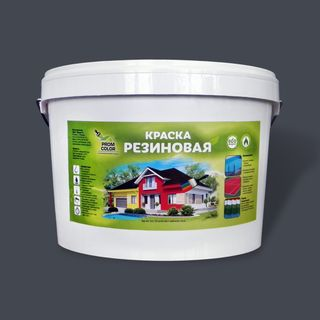 Paint rubber PromColor for concrete