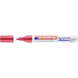 Edding / Marker varnish glossy, round nib, 2-4 mm Red