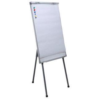 Notebooks for flipchart BRAUBERG, set of 5 pieces, 20 sheets, clear, 67,5х98 cm, 80 g/m2
