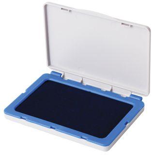 Stamp pad BRAUBERG, 100х80 mm (working surface 90x50 mm), blue paint