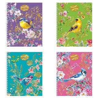 Notebook A5, 96 sheets, HATBER, comb, cage, 3D foil, matte lamination,