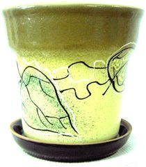 Pots ceramic decor 1 l