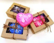 Handmade soap Big Heart - mix colors