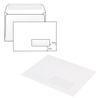 Envelopes C5 (162х229 mm), right window, tear strip, a SET of 1000 PCs