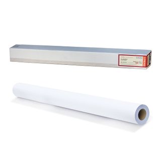 Roll for plotter (canvas), 914 mm x 10 m x 50.8 mm bushing, 300 g/m2, the texture of linen fabric, LOMOND