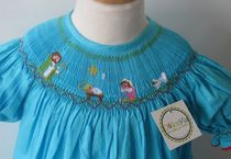 Dress for a girl (hand embroidery)