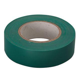 PVC insulating tape, 15 mm х 10 m, SIBRTECH, 130 microns, green