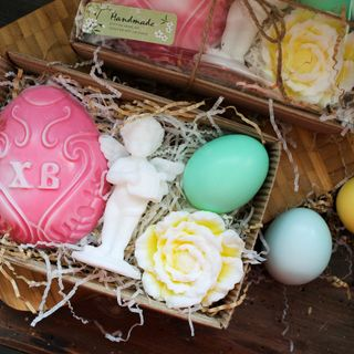 Handmade Easter soap gift set My angel - mix of colors
