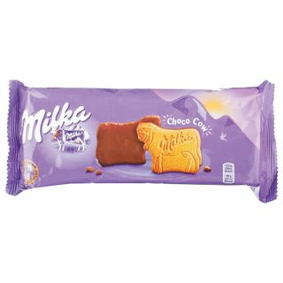 MILKA / Cookies covered with milk chocolate, 200 g