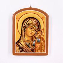 Palekh icon 'Kazanskaya mother of God', the master Paramonova