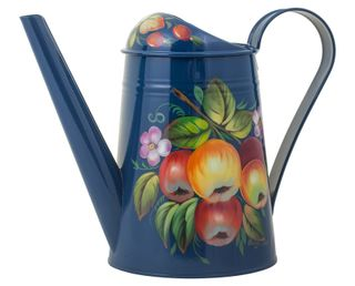Zhostovo / Steel watering can, author Pichugina L.