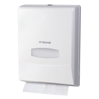 LIMA / PROFESSIONAL Towel Dispenser (System H2) Interfold, white, ABS plastic