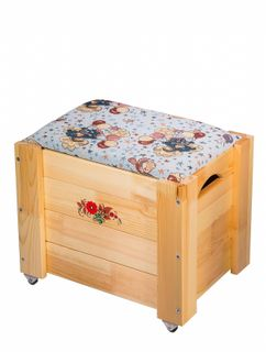 """Chest for storage of toys, """"Surprise"""" 407*480*350 mm"""