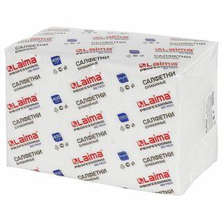 "LIMA / Paper napkins 400 pcs., 24x24 cm, ""Big Pack"", white, 100% cellulose"