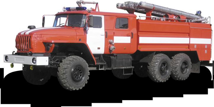 Tank truck fire-fighting AC 8 40 URAL-4320
