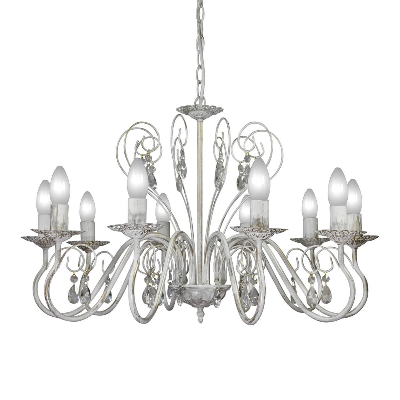 PETRASVET / Pendant chandelier S1163-10, 10xE14 max. 60W