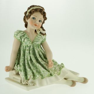"Collectible porcelain figurine ""Federica"", height 20 cm"