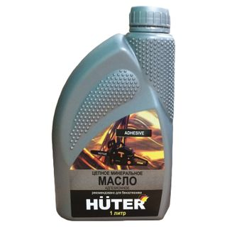 Chain oil, adhesive, mineral, 1 liter, Huter 80W90