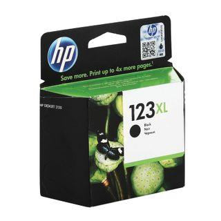 Inkjet cartridge HP (F6V19AE) Deskjet 2130, # 123XL, black, high yield, original, yield 480 pages.