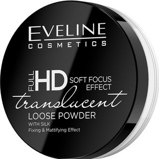 Transparent fixing powder - translucent series full hd loose powder, Eveline, 6 g